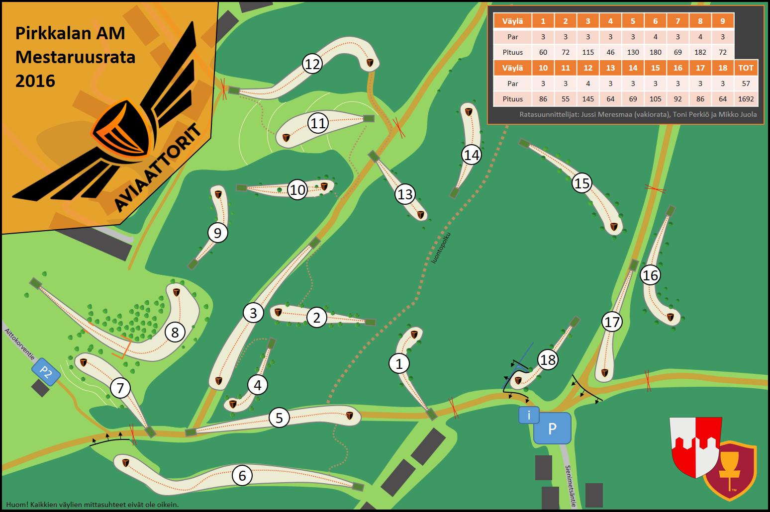 PAM2016-ratakartta
